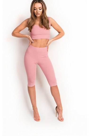 Kimey Pedal Short Stretch Co-ord