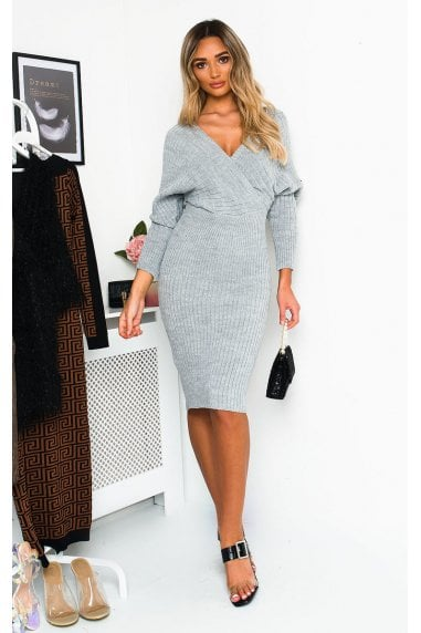 Serina Knitted Maxi Jumper Dress