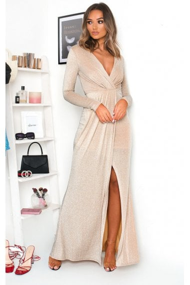 Elegance Evening Maxi Dress