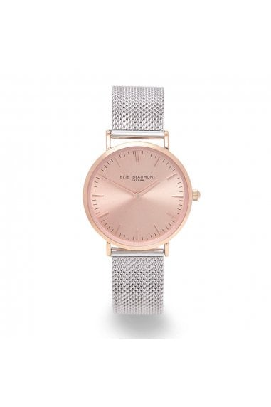 Oxford Large Mesh Two Tone Watch