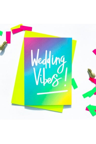 Wedding Vibes Card