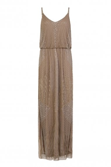 Alexis Beadwork Cami Maxi Dress