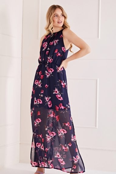 Dainty Floral Maxi Dress