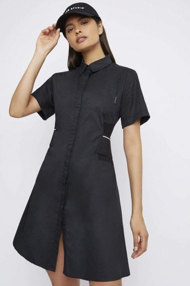 "THE ""DUTY"" SHORT SLEEVE SHIRT DRESS"