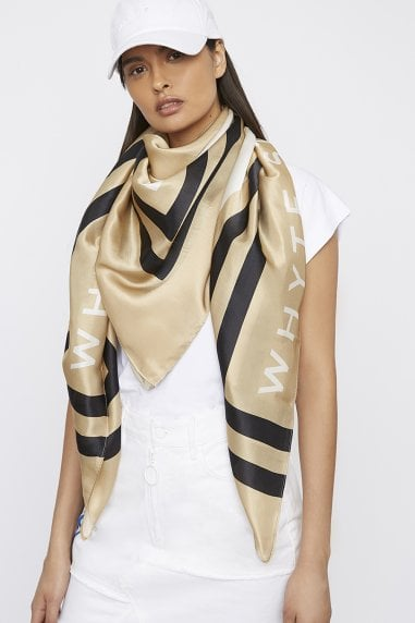 "THE ""HIGH-SIDE"" LARGE SILK SCARF"