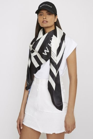 "THE ""ORBITAL"" SILK SCARF"