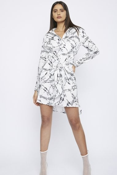 "THE ""SPOKE"" SHIRT DRESS"