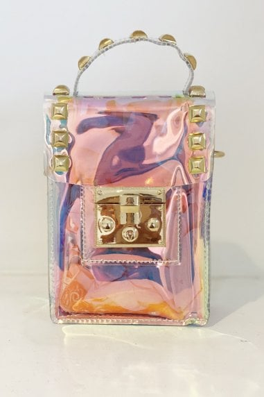 Light Surface Transparent Single Shoulder Small Bag