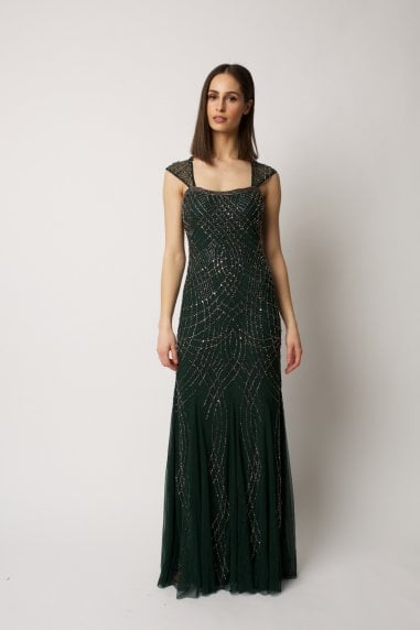 Green Lola Gown