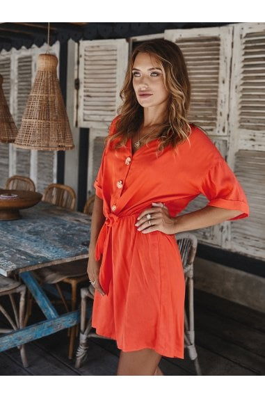 Playsuit In Orange