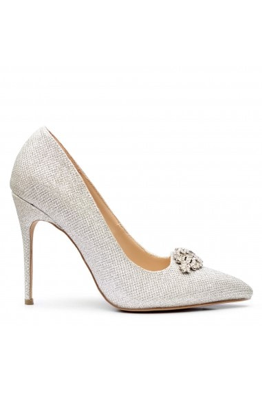 Glitter 'Alandra' High Heel Stilleto Court Shoe