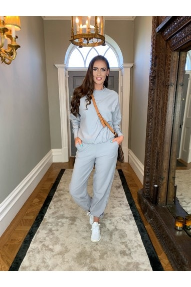 Carrie' Light Grey Sweat Pants
