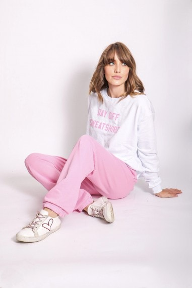 Pink Jogger Loungewear Co-ord