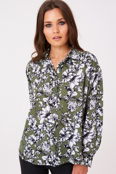 Zaire Shirt In Vintage Floral