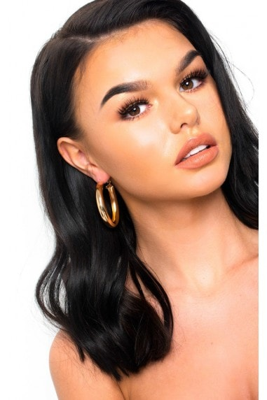 Beth Chunky Hoop Earrings
