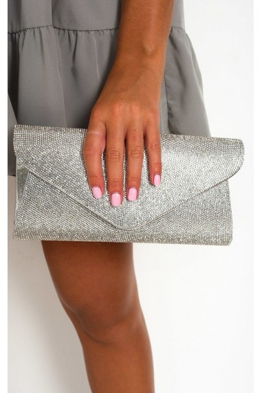 Cece Diamante Clutch Bag