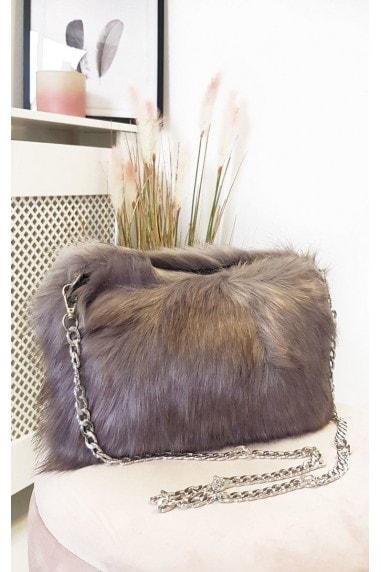 Pollie Faux Fur Shoulder Bag