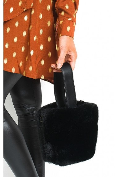 Razzi Fluffy Pouch Bag