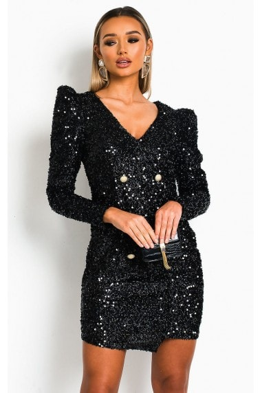 Lexie Sequin Bodycon Dresss