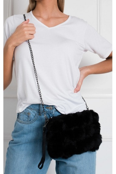 Rylan Cross Body Pom Pom Handbag