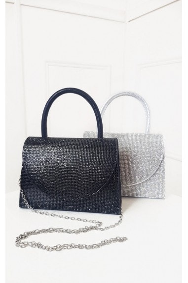 Sasha Diamante Embellished Handbag