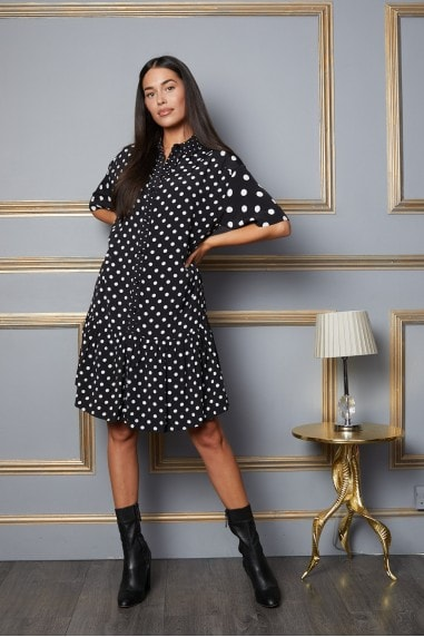 Penelope Polka Dot Dress