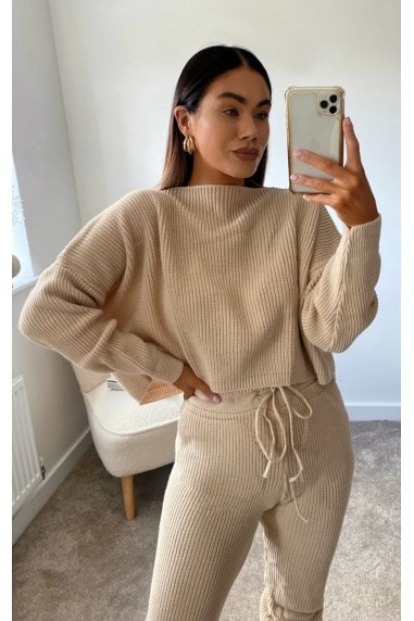 Lauren Knitted Ribbed Co-ord