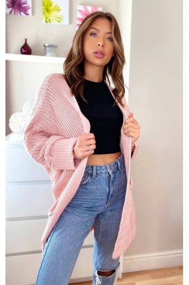 Hope Longline Knitted Cardigan