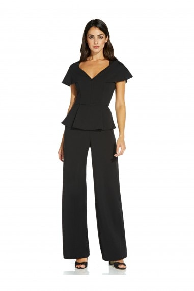 Structured Crepe Jumpsuit