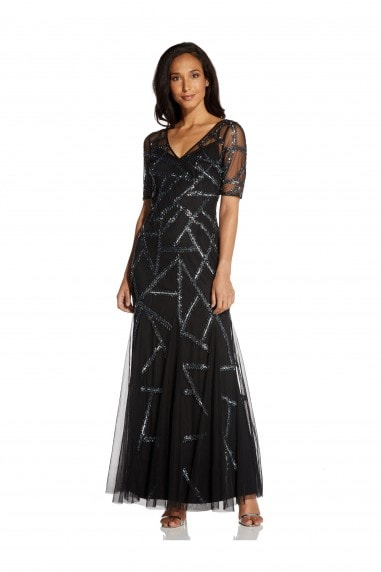 Beaded Covered Gown