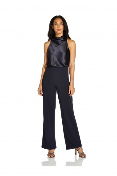 Satin Crepe Jumpsuit