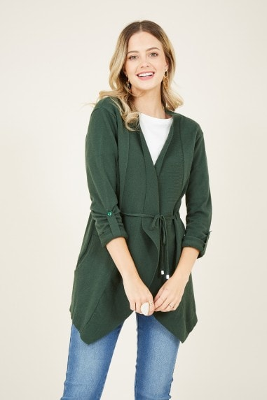 Green Waterfall Cardigan