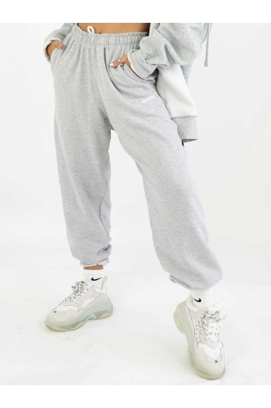 Loose Fit Grey Mix & Match Baggy Jogger