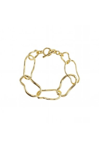 ABSTRACT LINK CHAIN BRACELET