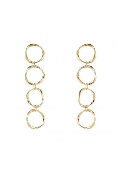4 OPEN RING EARRING