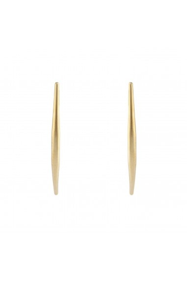 CURVED STICK EARRING