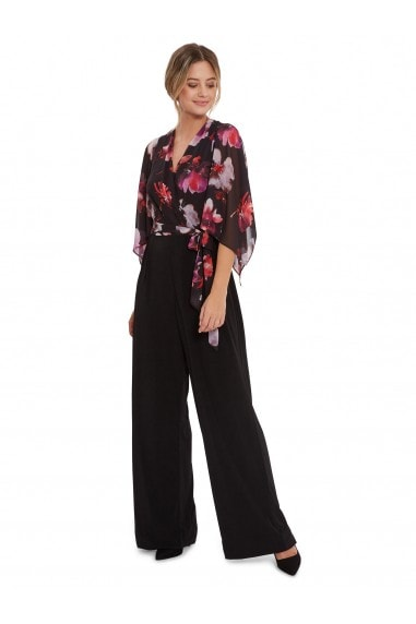 Chloe Floral Top Jumpsuit