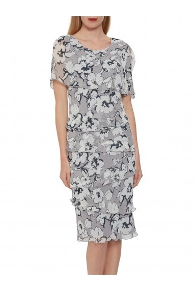 Dianora Floral Chiffon Dress