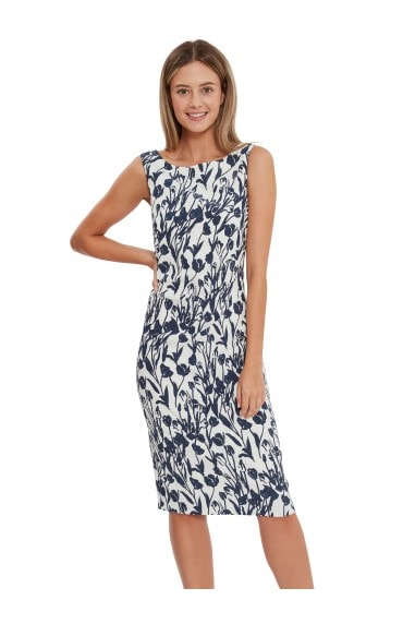 Erline Floral Jacquard Dress