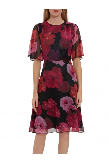 Sam Floral Chiffon Dress