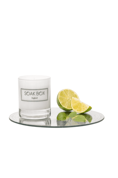 Lime, Basil & Pomelo, Naturally Scented Candle