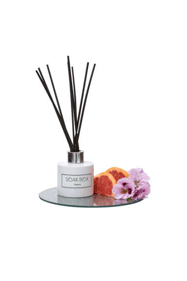 Geranium, Grapefruit & Patchouli, Luxury Reed Diffuser