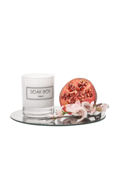 Apple Blossom & Pomegranagte, Naurally Scented Candle