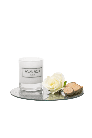 Rose & Sandalwood, Naturally Scented Candle