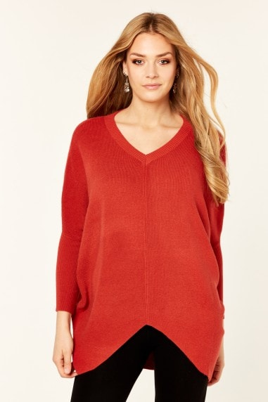Fine Knit Angel Wings Long Sleeves Jumper