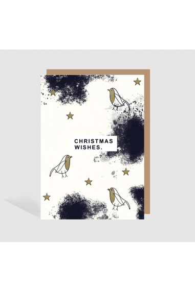 SCANDI CHRISTMAS WISHES CARD