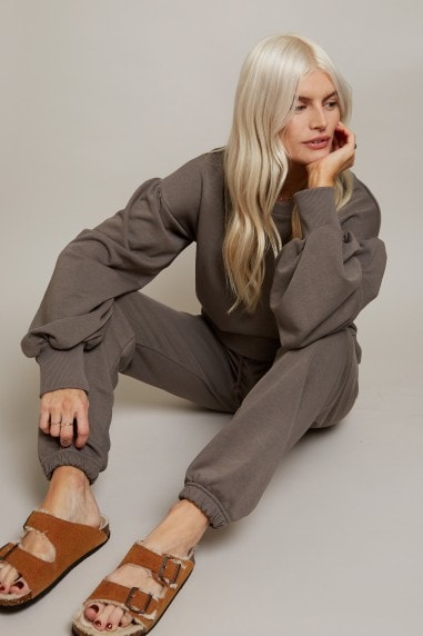Grey Jogger Loungewear Co-ord
