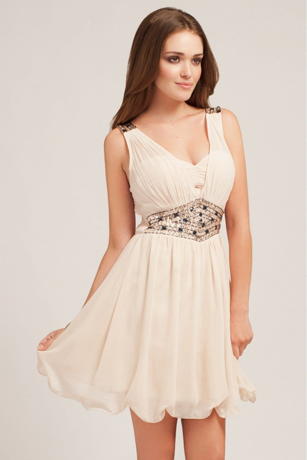 Find cream chiffon dress at ShopStyle. Shop the latest collection of cream chiffon dress from the most popular stores - all in one place.