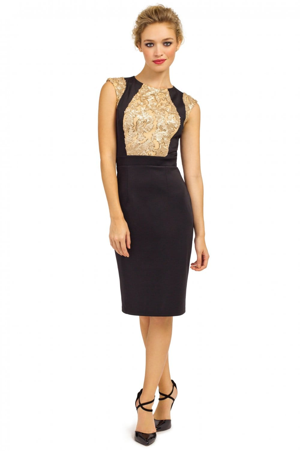 Piece the black and gold sequin ombre bodycon dress men's sizes womens