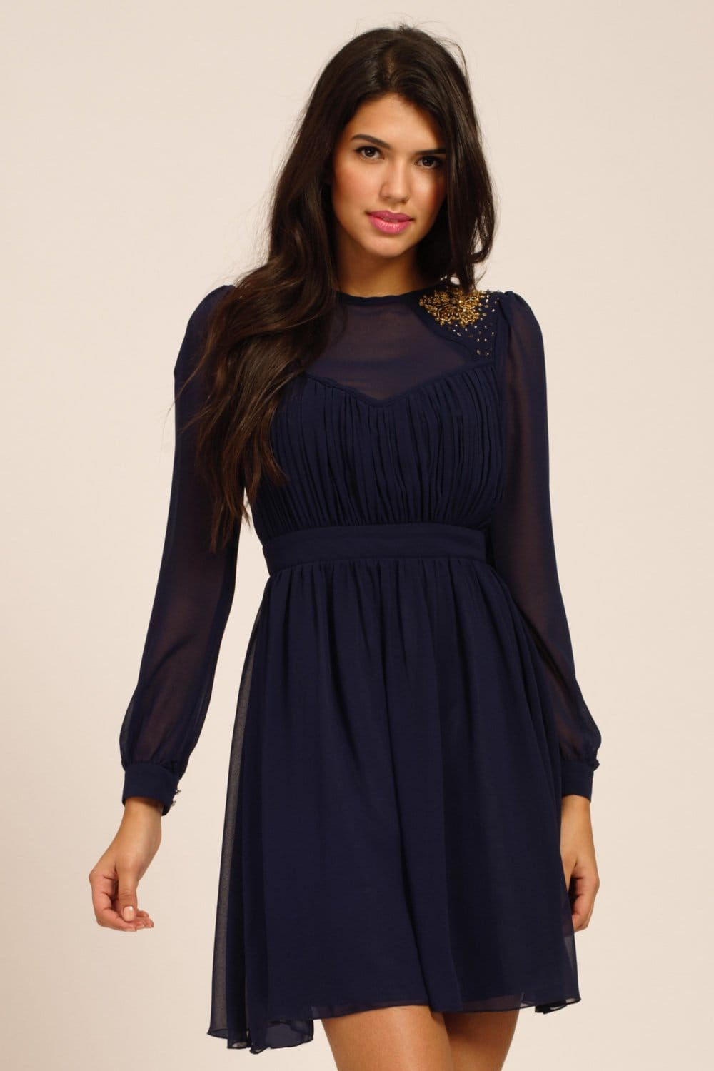 Find great deals on eBay for navy blue long sleeve dress. Shop with confidence.